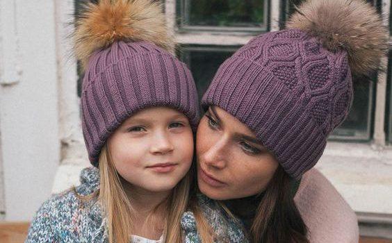 Модные и теплые зимние шапки