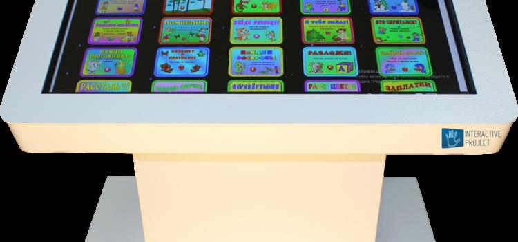 Что такое интерактивный стол и в чем его преимущества