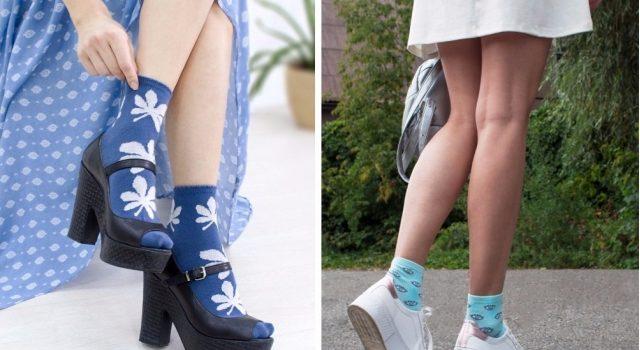 Женские носки как модный аксессуар