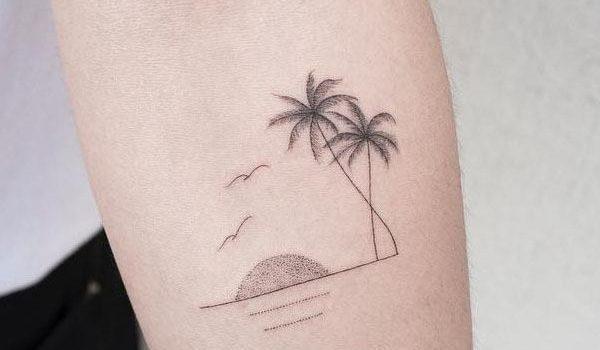 Стиль татуировок «минимализм»: характерные черты