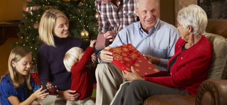 Подарки родителям в Новый год
